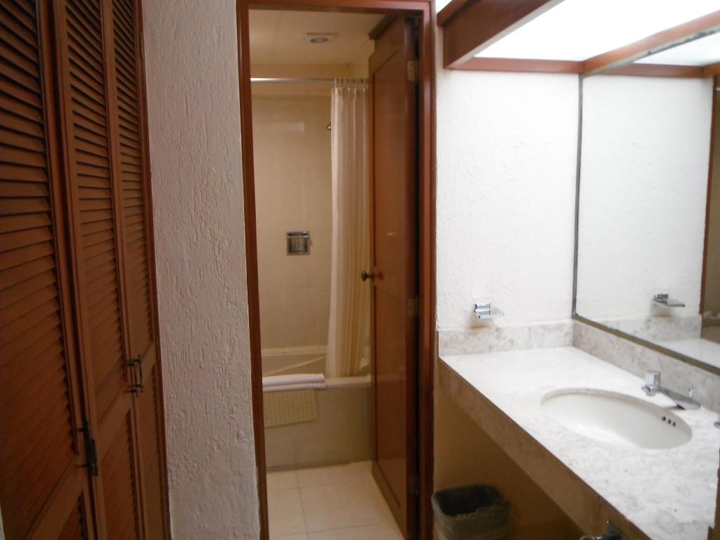 Exploramum and Explorason - Sea Adventure Resort & Waterpark Cancun Mexico - spacious 2 room en-suite area
