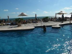 Exploramum and Explorason - Sea Adventure Resort & Waterpark Cancun Mexico - great swims
