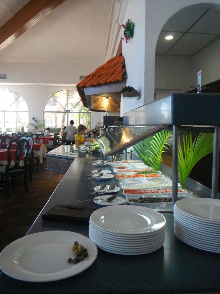 Exploramum and Explorason - Sea Adventure Resort & Waterpark Cancun Mexico - incredible buffets