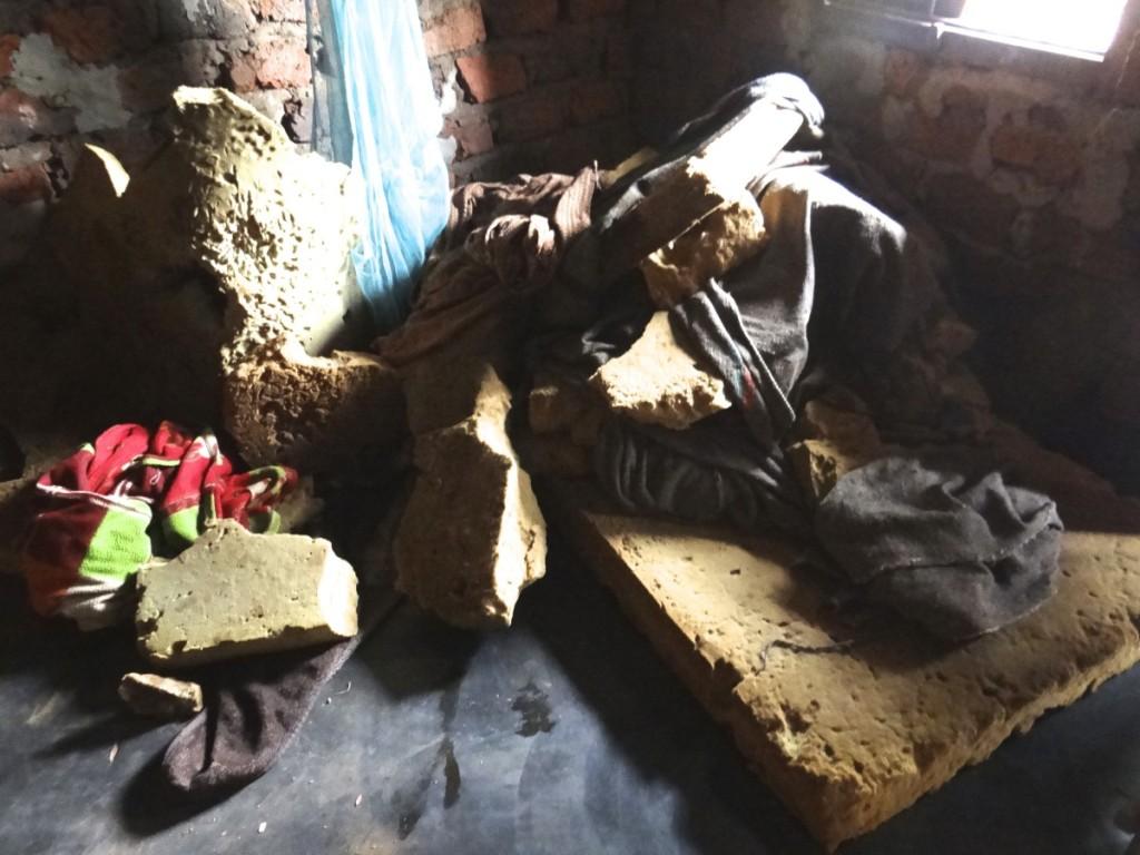 Uganda impoverished homes