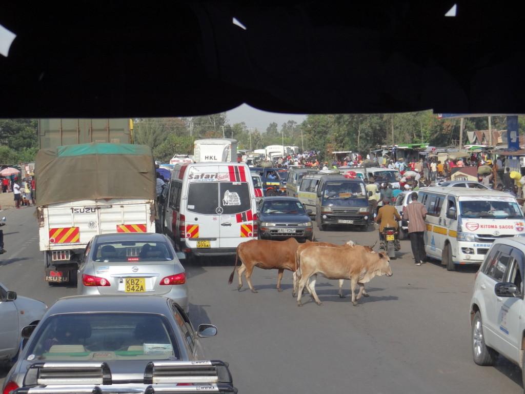 Uganda to Kenya by bus