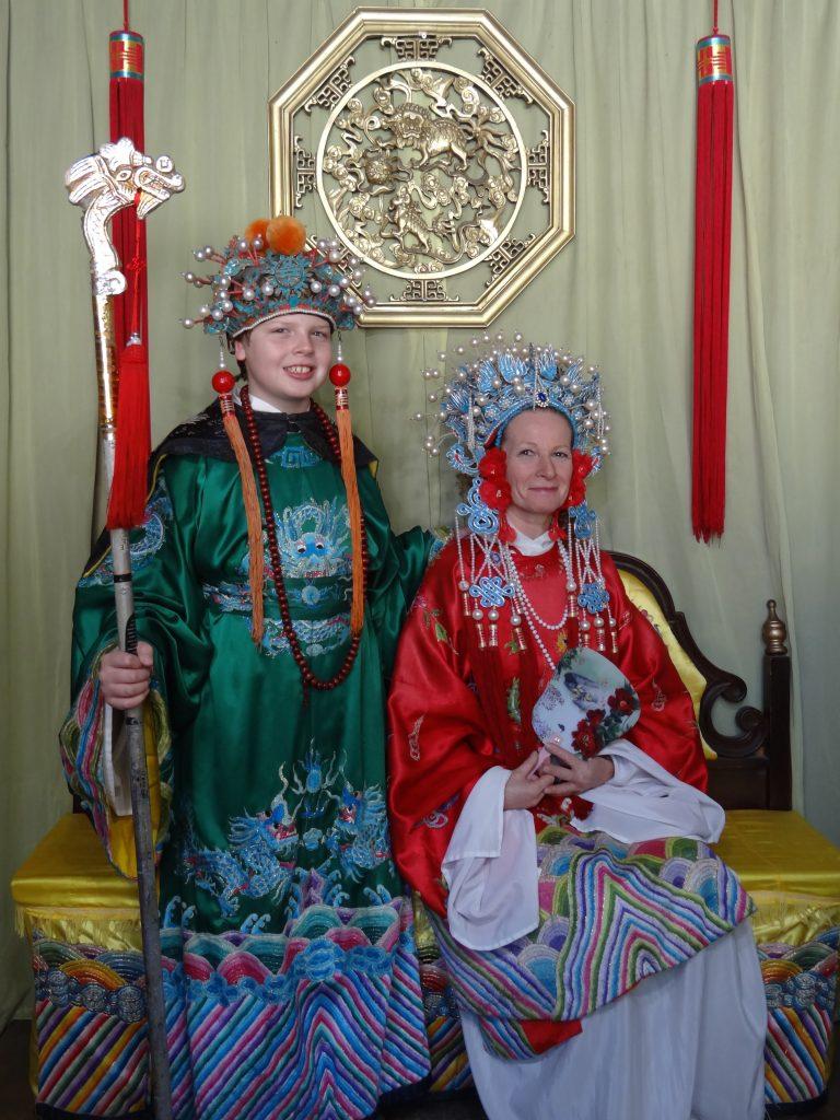 Chinese Dress- ups