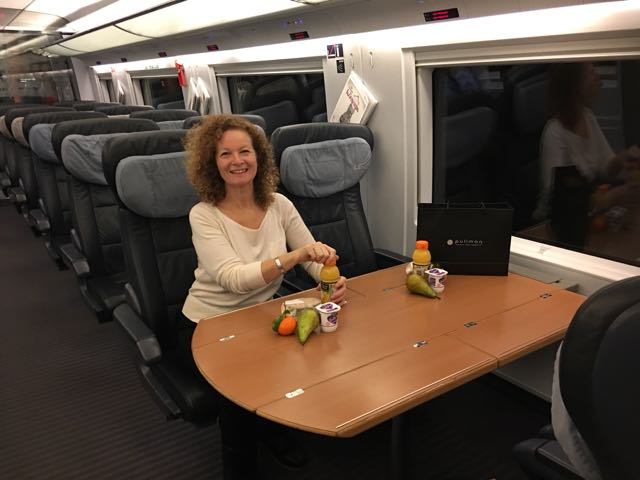 First Class Train travel