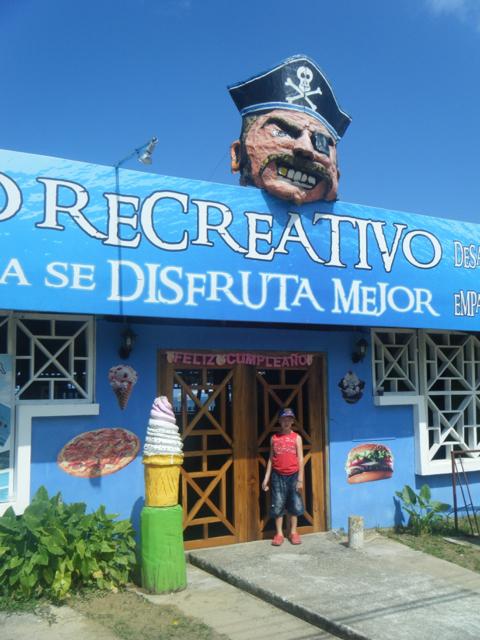 Pirate - Bocas del Toro Panama