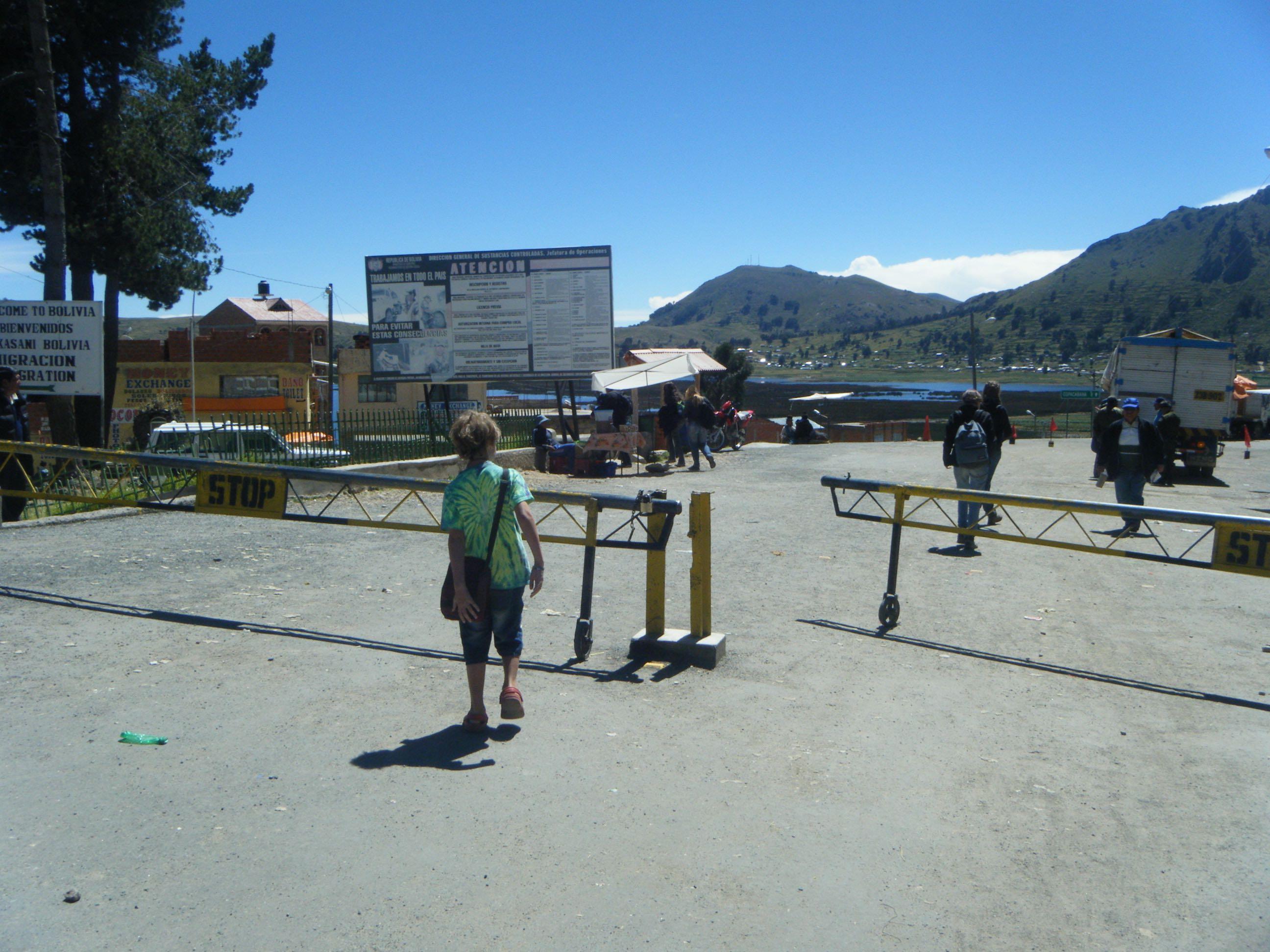 Puno Peru to Copacabana to La Paz Bolivia
