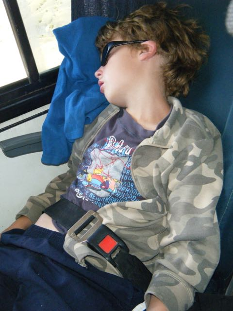 long bus ride