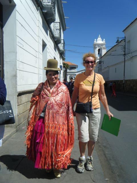 Bolivian lady