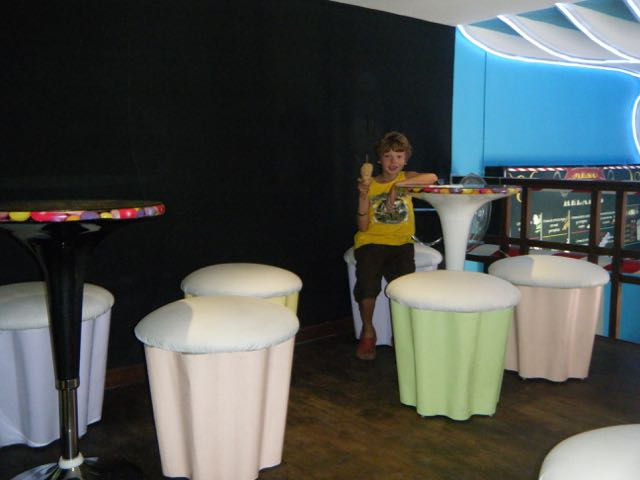 cup cake seats