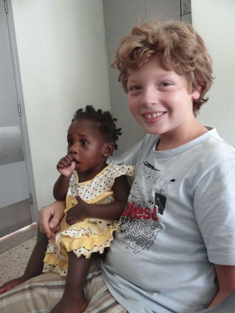 Uganda hospital visit
