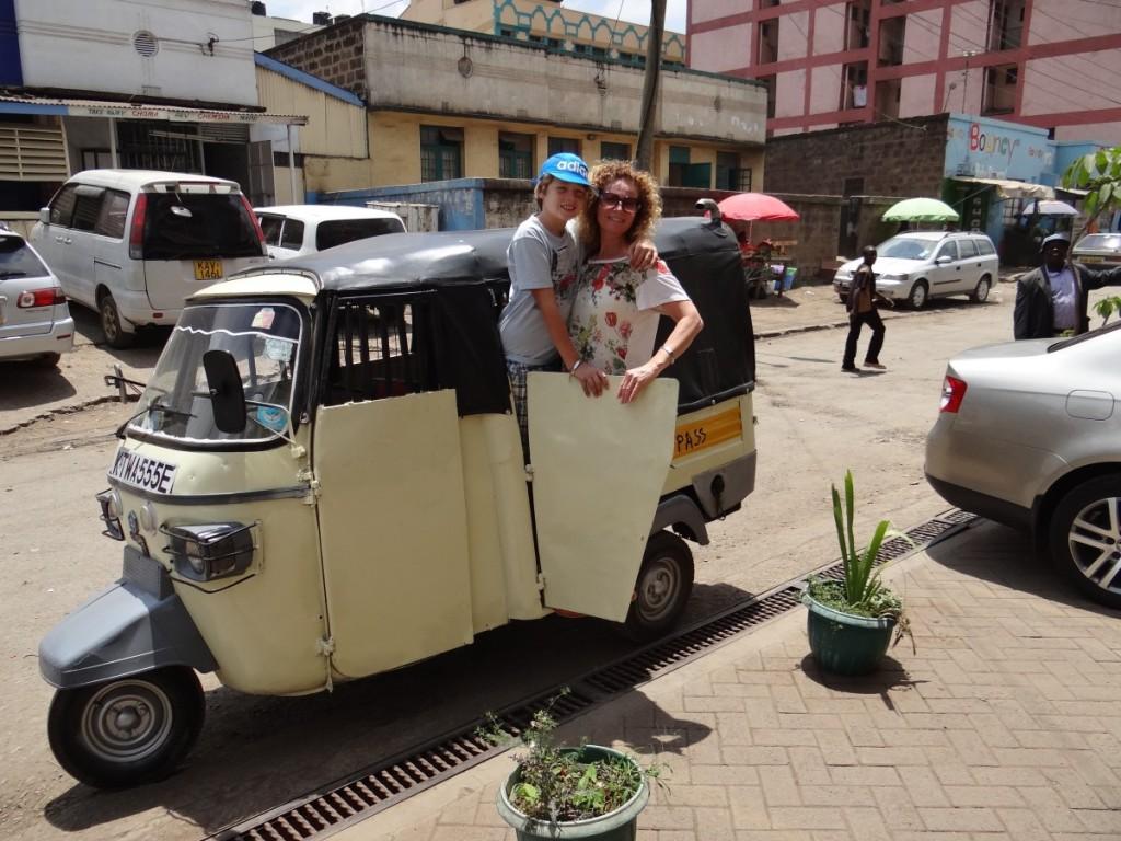 Nairobi by tuk-tuk