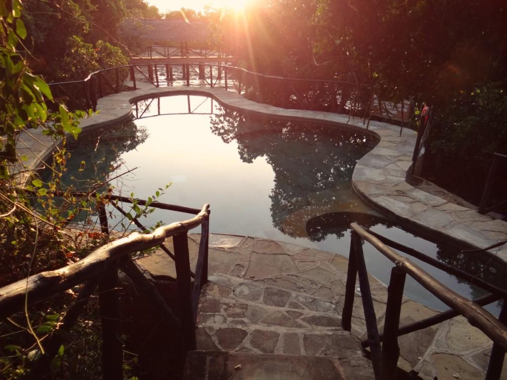 Chale Island swimming pool