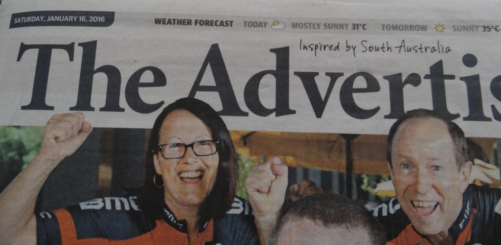 The Advertiser features Exploramum and Explorason