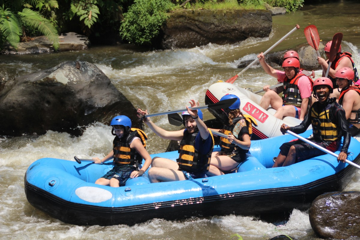 rafting - single parenting