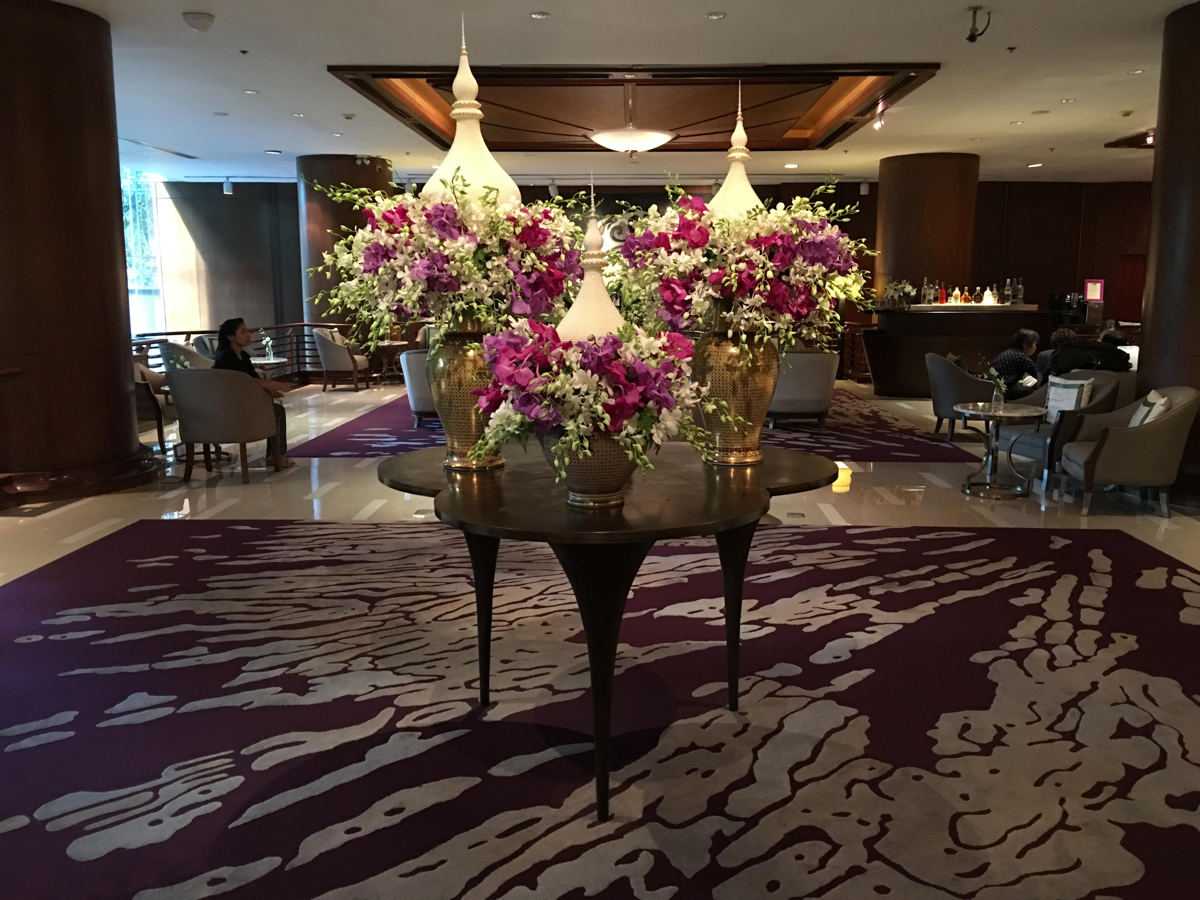 The Lobby Banyan Tree Bangkok