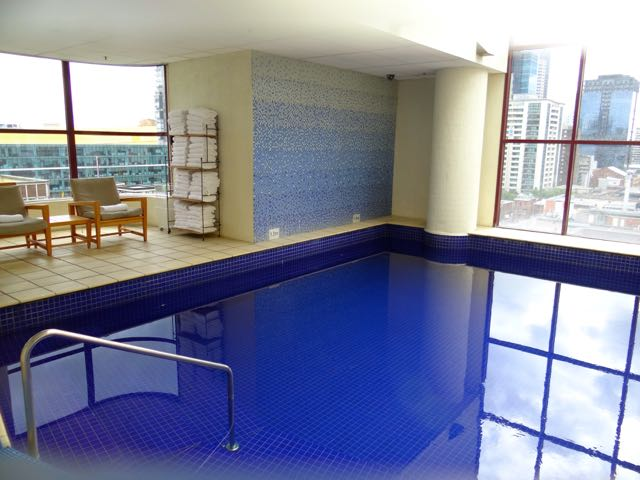 Swimming Pool - staying central in Melbourne