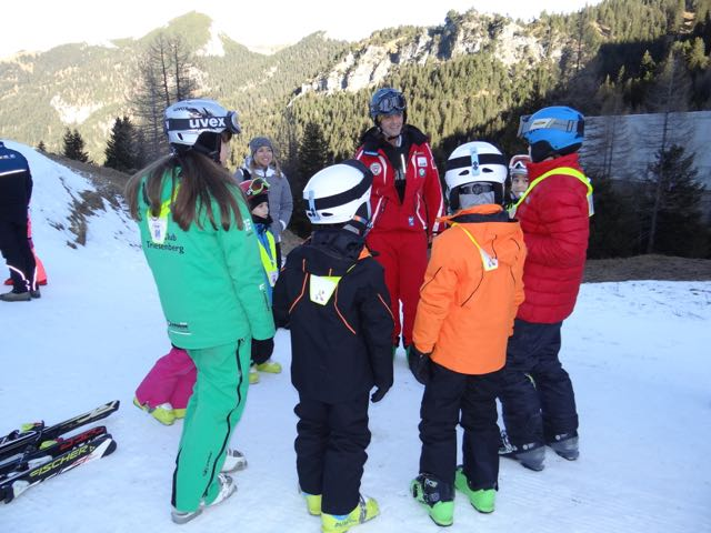 Kids Can Learn To Ski