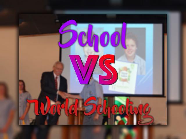 school Vs world school