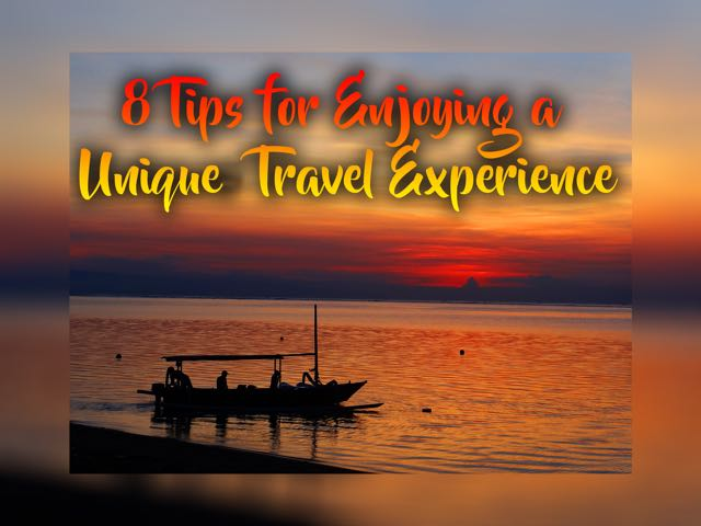 unique travel experience