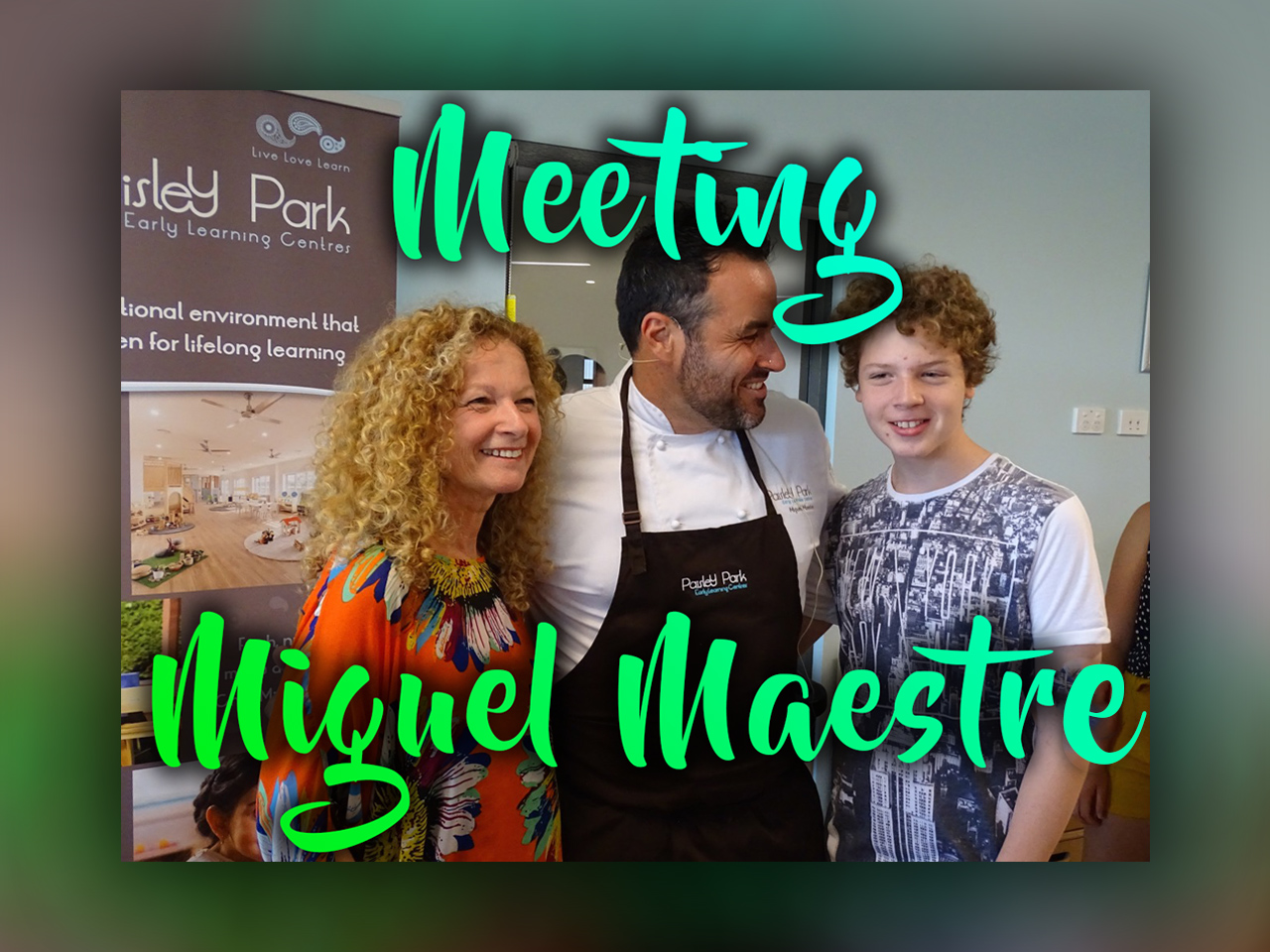 Meeting Miguel Maestre
