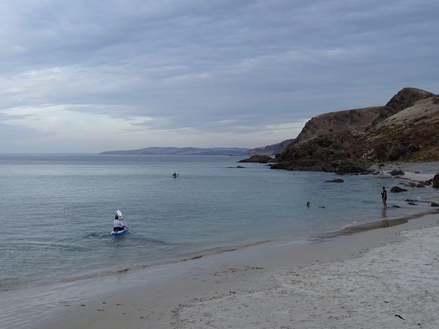 Second Valley beach