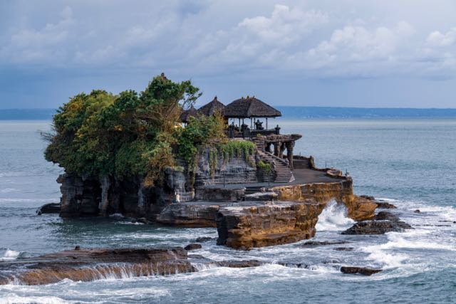 Tanah Lot supplied by Bali Villas and was taken by Nick Fewings